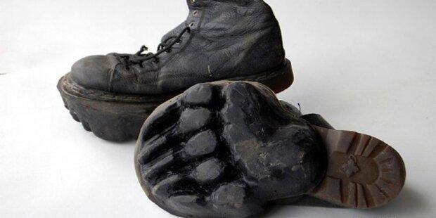 Hype um Schuhe mit Tierabdrücken