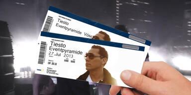 Gewinnen Sie Tickets für DJ Tiesto!