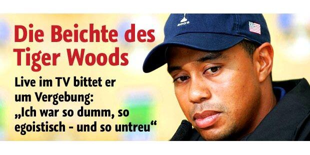 Tiger Woods äußert sich zu Skandalen