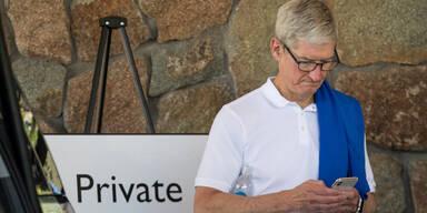 Jahresgehalt des Apple-Chefs hat sich verdoppelt