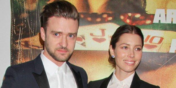 Timberlake: Superhappy mit seiner Jessica