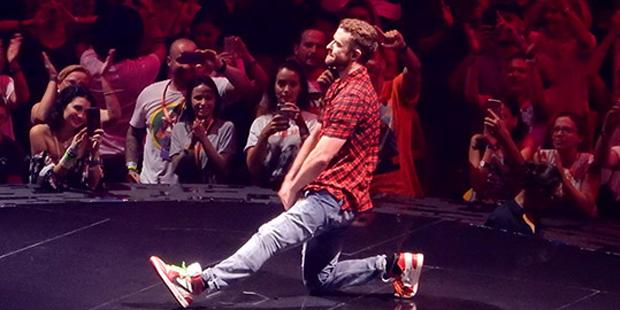 Timberlake Wiener Stadthalle