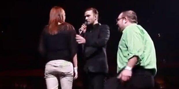 Justin Timberlake hilft bei Heiratsantrag