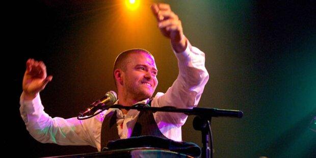 Justin Timberlake singt bei den Grammys