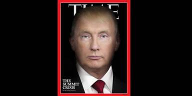 Time Cover Trump Putin