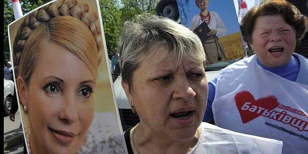 Viele Ukrainer lässt Timoschenkos Leid kalt