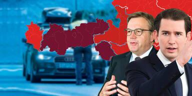 Ab heute wird Tirol zur Sperrzone