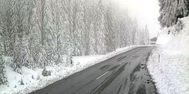 Schnee führt zu Blackout in Tirol
