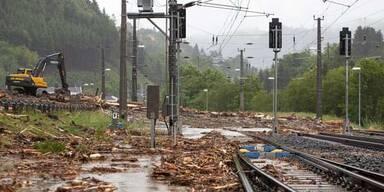 Tirol: Hochwasser trifft Unterland am stärksten
