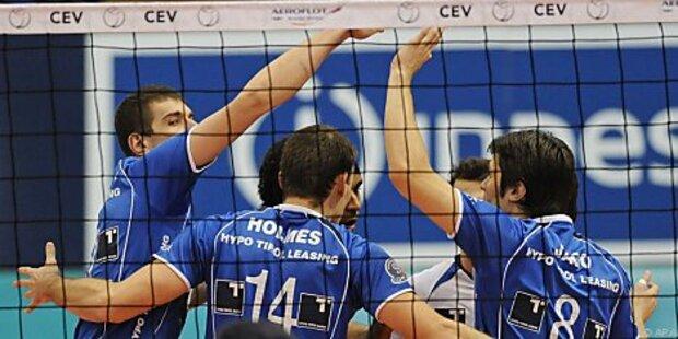 Tirol sucht bei hotVolleys Final-Vorentscheidung