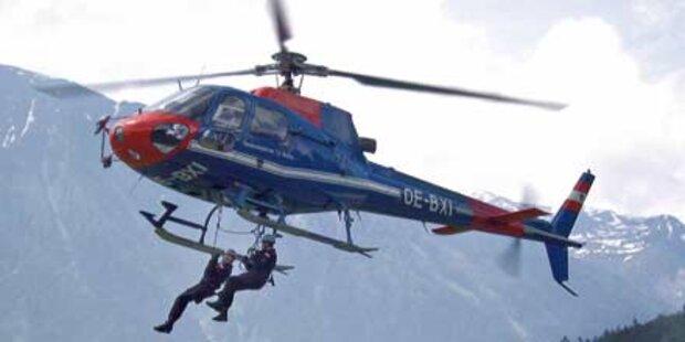 Polizei jagte Autoknacker mit Helikopter