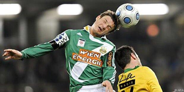 Rapid verlängerte Vertrag mit Hannes Eder