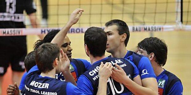 hotVolleys schafften Auswärtssieg gegen Tirol