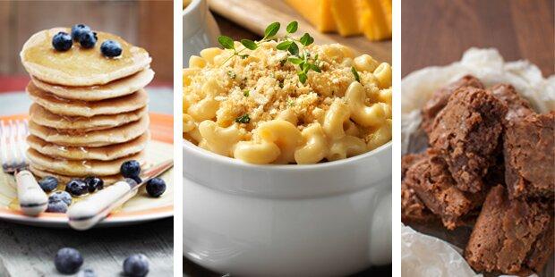 Drei Mahlzeiten mit nur drei Zutaten