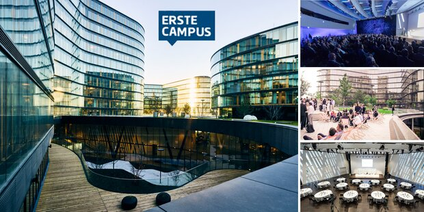 Business Meetings & Events am Erste Campus