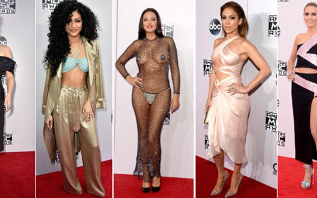 Die Modeflops der AMA Awards