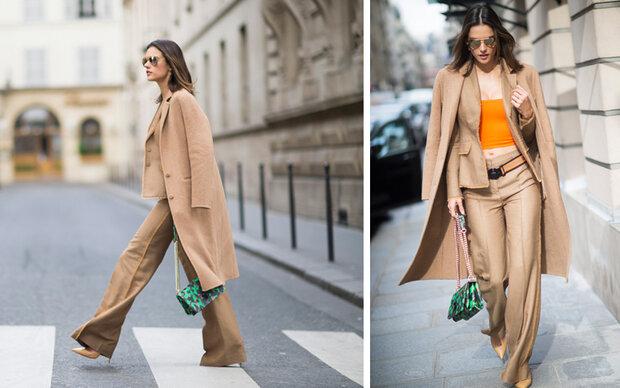 Alessandra Ambrosios lässiger Paris-Look