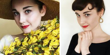 Dieser Teen sieht aus wie Audrey Hepburn!