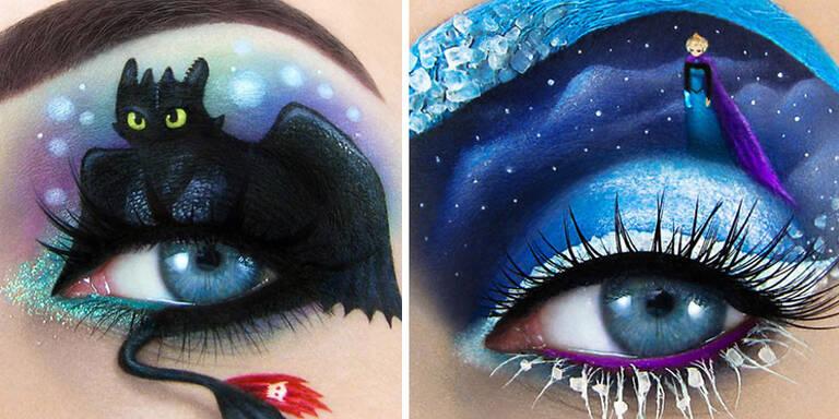 Diese Make-Ups sind echte Kunstwerke!