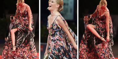 Elizabeth Banks - Kleiderpanne in Venedig