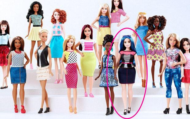 Die Barbie gibt's jetzt auch mit Kurven!