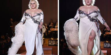 Beth Ditto models für Marc Jacobs