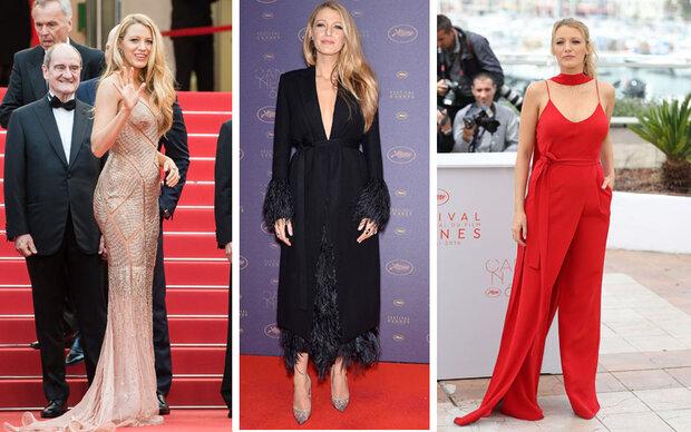 Stylisches Babybauch-Debüt in Cannes