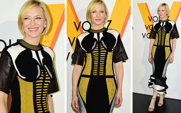 Cate Blanchett, bist du jetzt eine Kampfbiene?