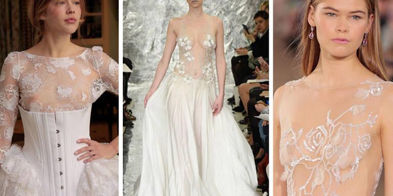 Die nacktesten Brautkleider des Jahres