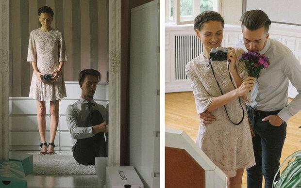 Fotografin knipste ihre eigenen Hochzeitsfotos
