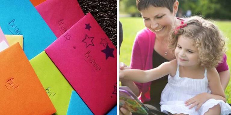 Sterbende Mutter schreibt Tochter Briefe