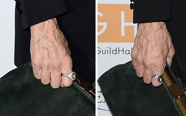 Wem gehören diese Horror-Hände?