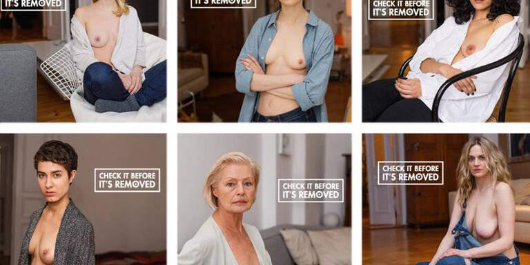 Darum werden diese Brüste nicht zensiert