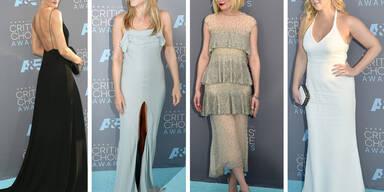 Schwarz-Weiß-Looks auf den Critics Choice Awards