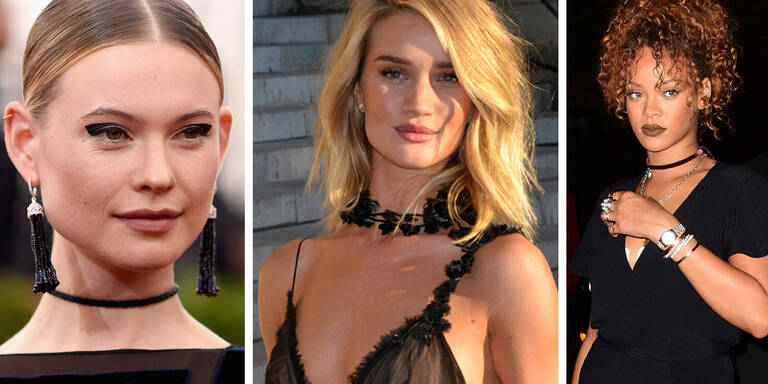 Modetrend Choker-Halsbänder