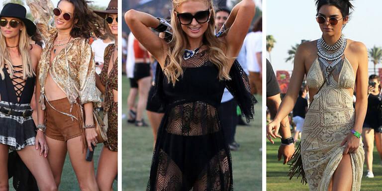 So stylen sich die Stars für Coachella