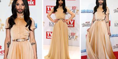 Conchita Wurst auf den Logie Awards