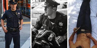 Das ist der heißeste Polizist der Welt!