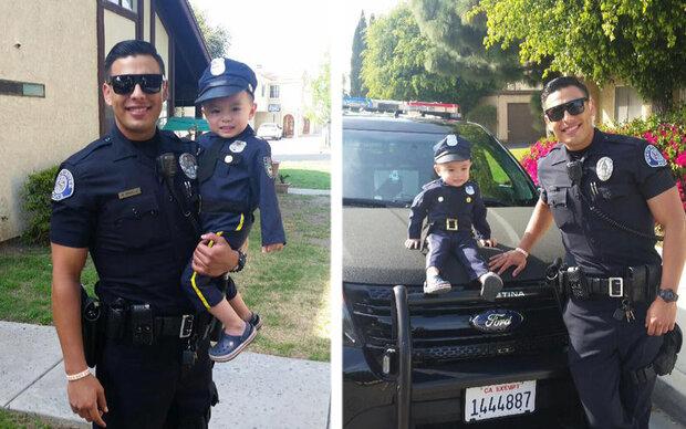 Darum ist dieser Cop jetzt ein Internet-Star