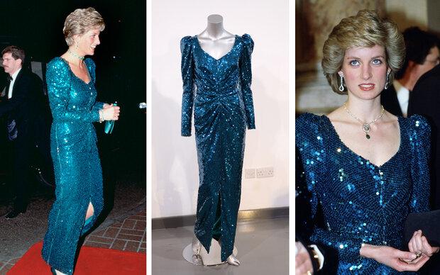 Prinzessin Dianas Ösi-Kleid wird versteigert
