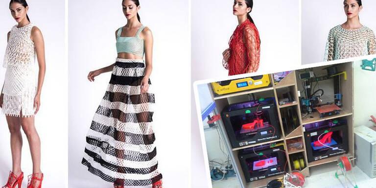 Diese Kleider sind aus dem 3D-Drucker!