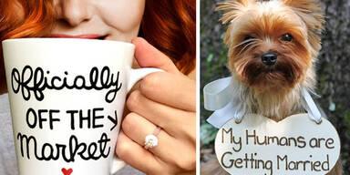 Die lustigsten Verlobungsfotos der Welt