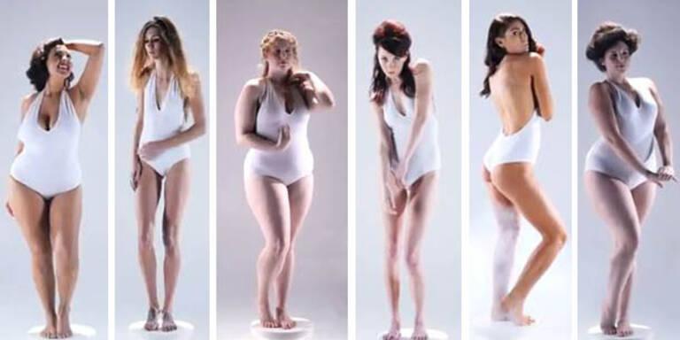 """Der """"perfekte Körper"""" im Wandel der Zeit"""