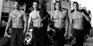 Das sind die wohl heißesten Feuerwehrmänner der Welt!