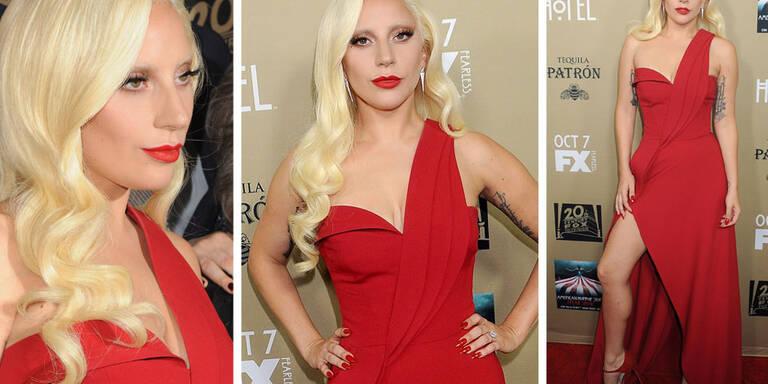Lady Gaga, wo sind deine Augenbrauen?