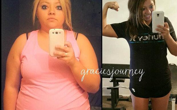 Diese Frau nahm über 40 Kilo ab!