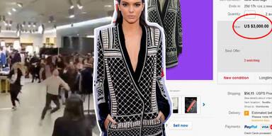 Fashion-Meute stürmt Läden, Rekordpreise auf Ebay