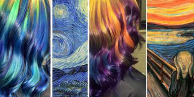 Diese Haarfarben sind wahre Kusntwerke!