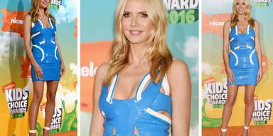 Heidi Klum bei den Kids Choice Awards