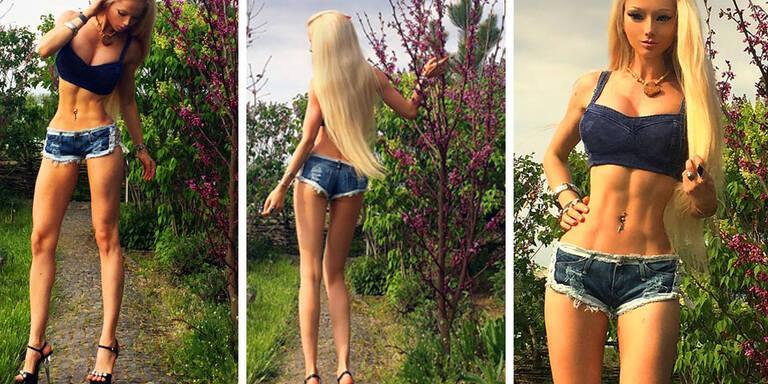 """Geht """"Human Barbie"""" mit ihrem neuen Look zu weit?"""